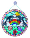 Stained Glass Made Easy - Dolphins