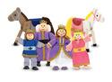 Royal Family Wooden Doll Set