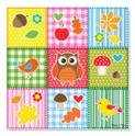 Autumn Quilt Cardboard Jigsaw - 30 Pieces