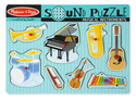 Musical Instruments Sound Puzzle - 8 Pieces