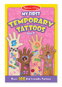 My First Temporary Tattoos - Pink