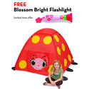 Mollie Ladybug Tent with FREE Blossom Bright Flashlight