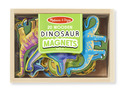 Wooden Dinosaur Magnets