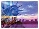 Liberty Skyline Cardboard Jigsaw - 500 Pieces