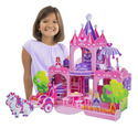Pink Palace 3D Puzzle & Dollhouse in One
