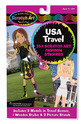 Scratch Art® Fashion Sticker Set - USA Travel