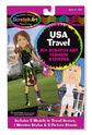Scratch Art® Fashion Sticker Set - USA Travel