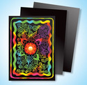 Scratch Art Multicolor Board Artist Trading Cards