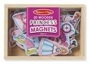 Wooden Princess Magnets