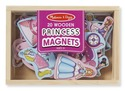 Wooden Princess Magnets