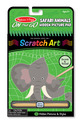 On the Go Scratch Art: Hidden Picture Pad - Safari Animals