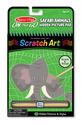 On the Go Scratch Art: Hidden Picture Pad - Safari Animals