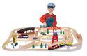 Wooden Railway Set