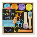 Cut, Sculpt & Roll Clay Play Set
