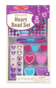 Decorate-Your-Own Wooden Heart Bead Set