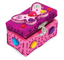 Decorate-Your-Own Wooden Butterfly Chest
