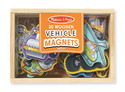 Wooden Vehicles Magnets