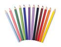 Jumbo Colored Pencils - Triangular No-Roll (12 pack)