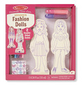 Decorate-Your-Own Wooden Fashion Dolls
