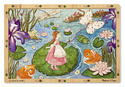 Lily Pad Journey Wooden Jigsaw Puzzle - 96 Pieces