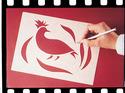 Scratch Art Wax-O Stencil Paper (12 sheets 9