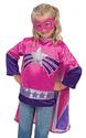 Super Hero Girl Role Play Costume Set