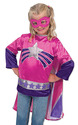 Super Hero Girl Role Play Costume Set