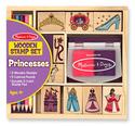 Wooden Princess Stamp Set