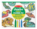 Jumbo Coloring Pad - Animals
