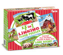 4 in 1 Linking Floor Puzzles - Farm
