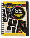 Scratch Art Drawing Book - Fashion Friends