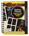Scratch Art® Drawing Book - Fashion Friends