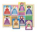 Peek-Through Puzzle Princesses - 8 Pieces