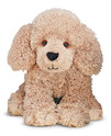 Permley Tan Poodle Puppy Dog Stuffed Animal