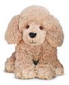 Permley Tan Poodle Puppy Dog Stuffed Animal