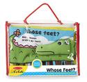 Soft Activity Book - Whose Feet?