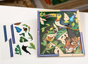 Rain Forest Petite Peel & Press Sticker by Numbers Party Favor