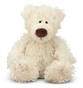 Baby Roscoe Vanilla Teddy Bear Stuffed Animal