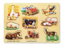 Farm Peg Puzzle