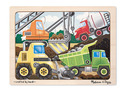 Construction Site Wooden Jigsaw Puzzle - 12 Pieces