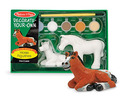 Decorate-Your-Own Horse Figurines
