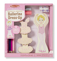 Magnetic Ballerina Dress-Up