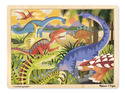 Dinosaur Wooden Jigsaw Puzzle - 24 Pieces