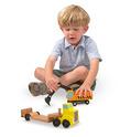 Trailer & Excavator Wooden Vehicles Play Set