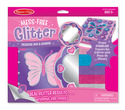 Mess-Free Glitter Treasure Box & Mirror Set