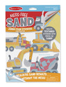 Mess-Free Sand Jumbo Foam Stickers - Construction