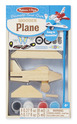 Decorate-Your-Own Wooden Plane