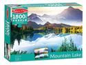 Mountain Lake Cardboard Jigsaw - 1500 Pieces