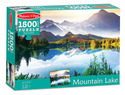 Mountain Lake Cardboard Jigsaw - 1500 Pieces