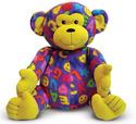 Beeposh Ricky Monkey Stuffed Animal